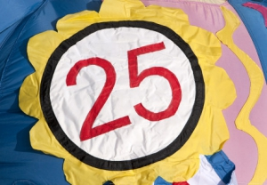 Badge 25 jaar