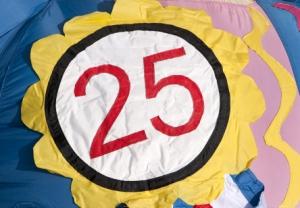 Badge 25 jaar