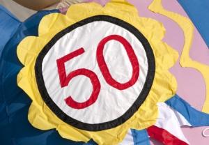 Badge 50 jaar - Partydolls
