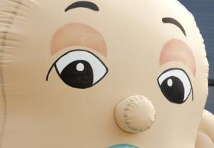 Afbeelding van baby gezicht - Partydolls