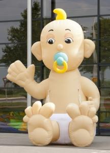 Afbeelding opblaasbare baby