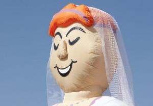 Afbeelding van bruid - Partydolls