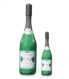 Champagne fles 2 stuks